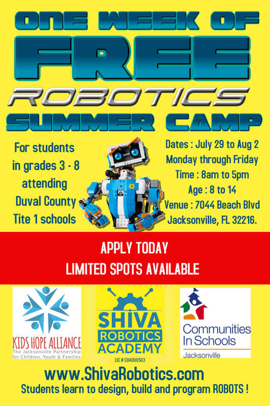 Free Summer Camp Flyer